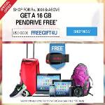 India Desire : Ebay FREEGIFT4U Offer : Get Free 16 GB Pendrive On Shop Of Rs 3000 & Above From Ebay